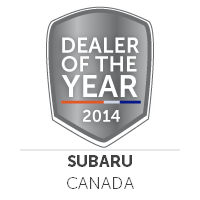 2014 Subaru Dealer of the Year Canada
