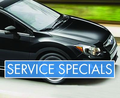 Subaru - Service Specials - Banner