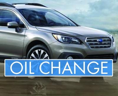 Subaru - Service Pages - Oil Change Banner