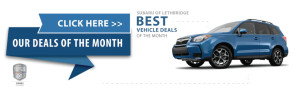 Best Deals at Subaru of Lethbridge