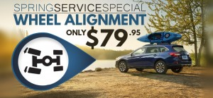 Spring Service Special - Wheel Alignment - Landing Page Graphic