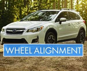 Subaru - Wheel Alignment - Banner