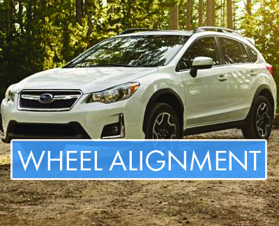 Subaru - Wheel Alignment - Banner