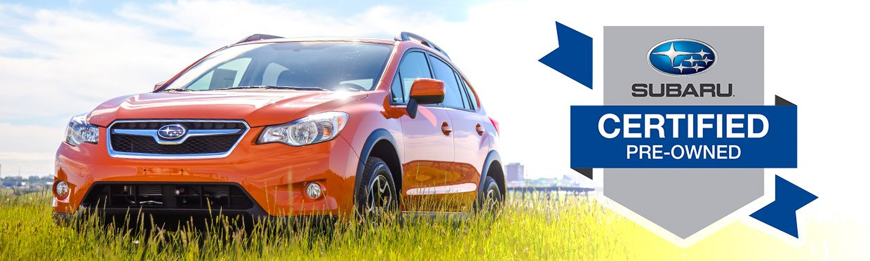 Subaru Certified Pre-Owned