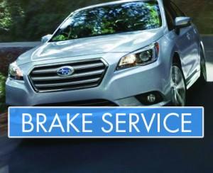 Subaru - Brake Service - Banner