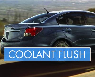 Subaru - Coolant Flush - Banner