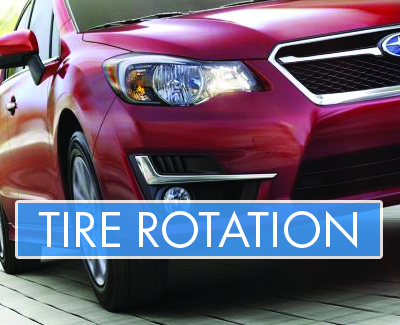 Subaru - Tire Rotation - Banner