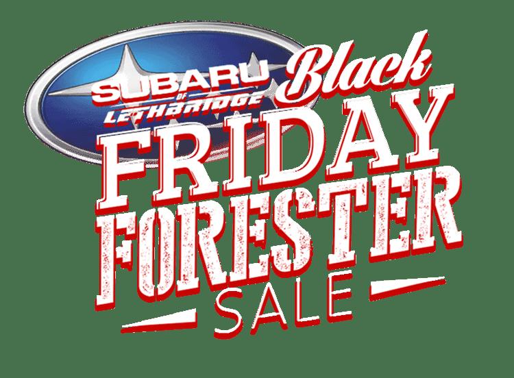 Black Friday Subaru of Lethbridge