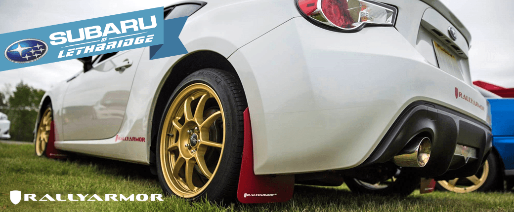 Rally Armor Mud Flaps - Subaru of Lethbridge - Graphic