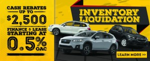 Inventory Liquidation - Subaru - HP-Slider_HomePage_Slider